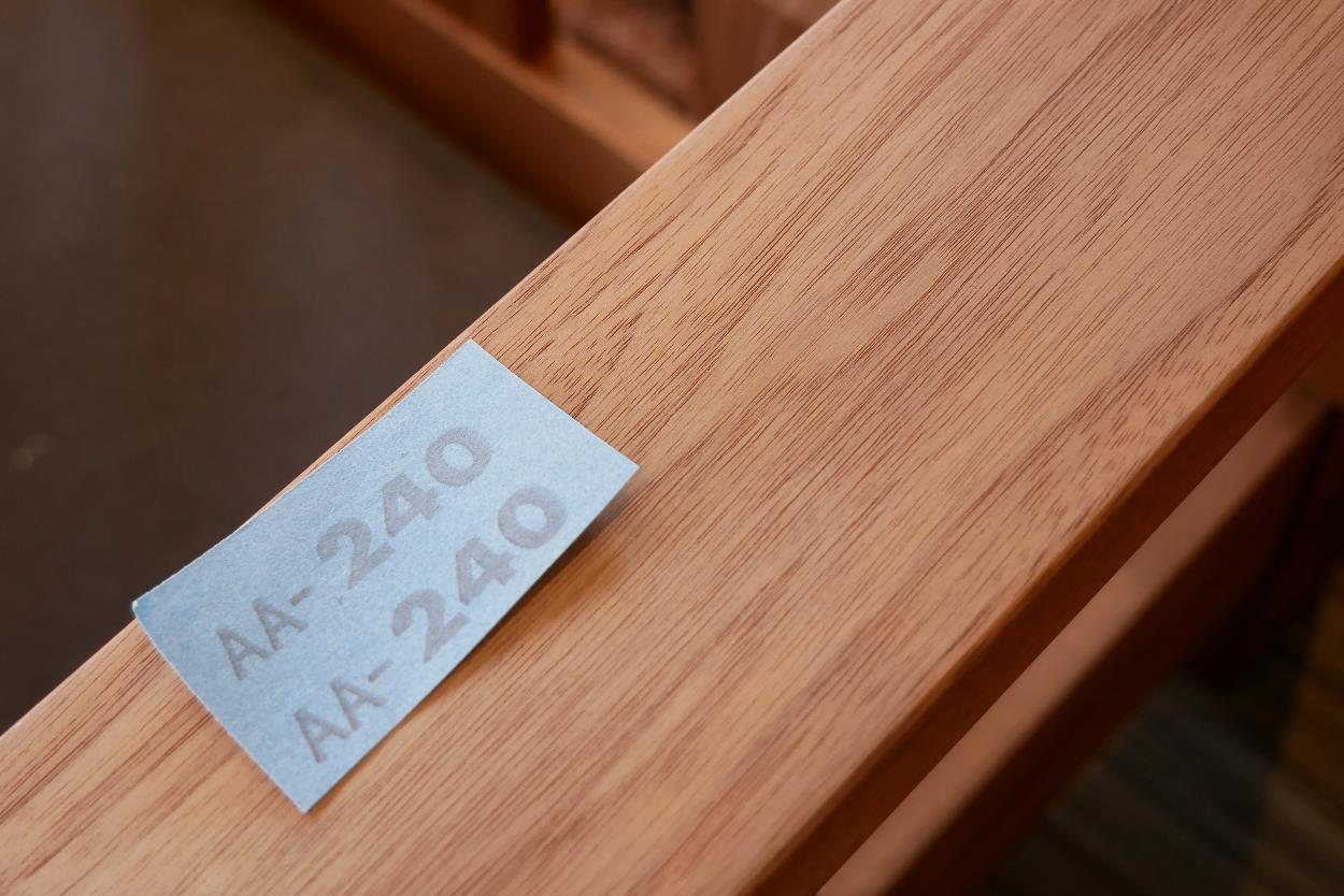 無垢家具,オイル塗装,メンテナンス2