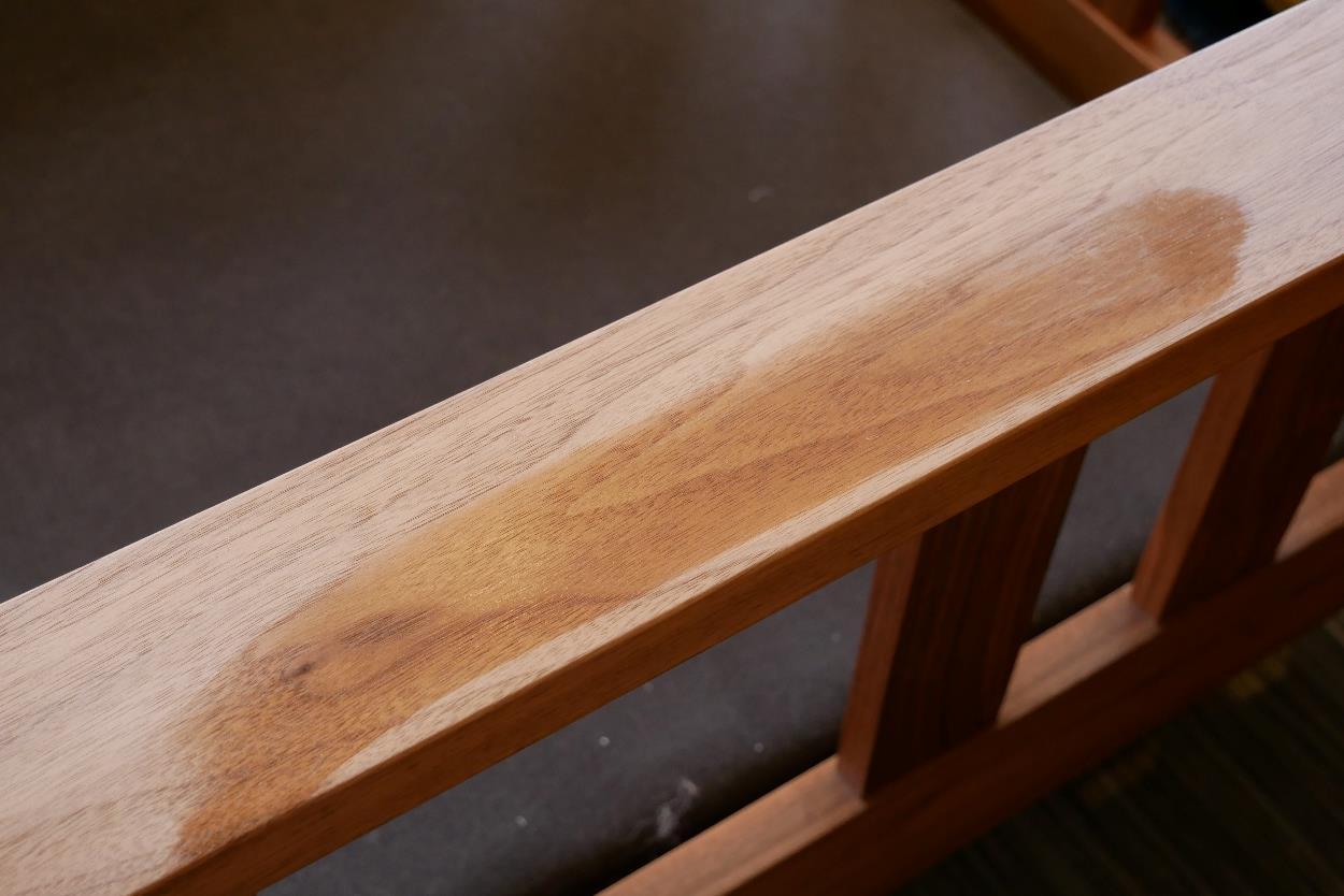 無垢家具,オイル塗装,メンテナンス9