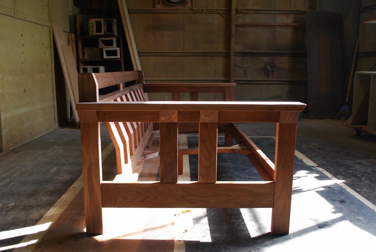 木枠ソファ、無垢材、高級ソファ